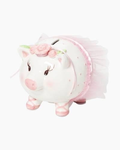 Ballerina Ceramic Piggy Bank