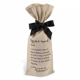 Mud Pie Bridesmaids Wine Bag