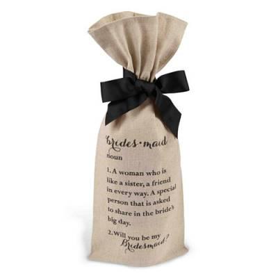 Bridesmaids Wine Bag