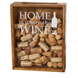 Mud Pie Wine Cork Box