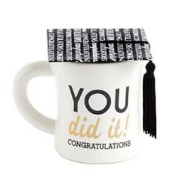 Mud Pie You Did It Graduation Cap Mug