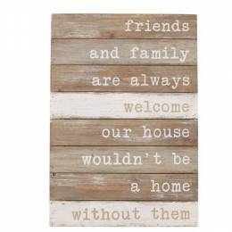 Mud Pie Friends and Family Sign