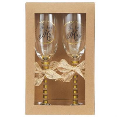 Mr. & Mrs. Champagne Set