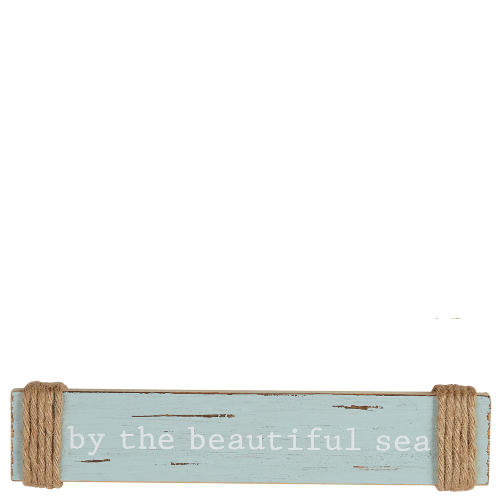 Mud Pie By the Beautiful Sea Small Sentiment Sign