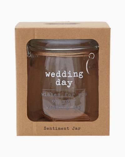 Wedding Wishes Glass Jar Set