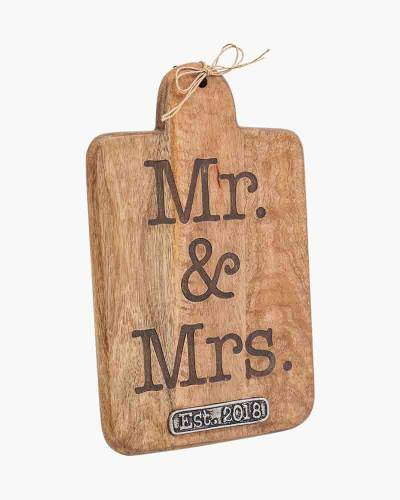 Mr. and Mrs. 2018 Paddle Board