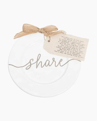 Share Giving Plate