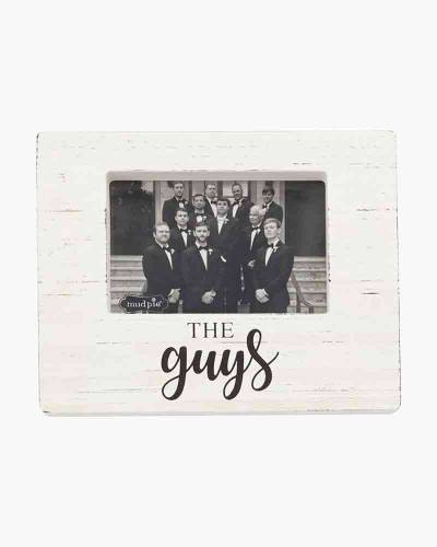 The Guys Wooden Block Picture Frame (4x6)