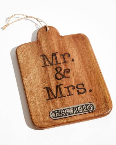 Exclusive Mr. and Mrs. Est. 2020 Paddle Board