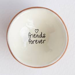 Natural Life Friends Forever Tiny Trinket Dish