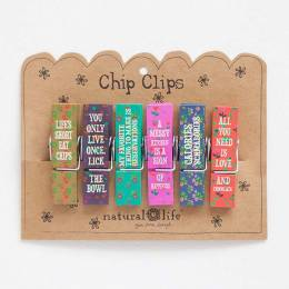 Natural Life Food Fun Chip Clip Set of Six