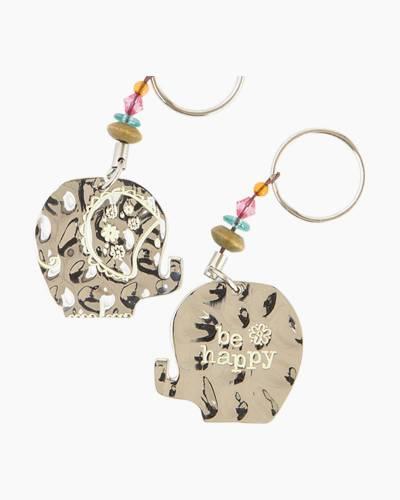 Elephant Token Keychain