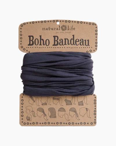 Solid Black Boho Bandeau