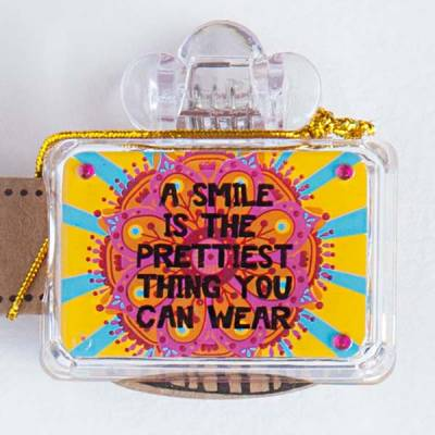 Pretty Smile Toothbrush Cover