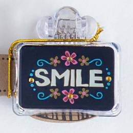 Natural Life Blue Smile Toothbrush Cover