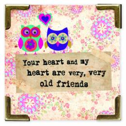 Natural Life Old Friends Corner Magnet