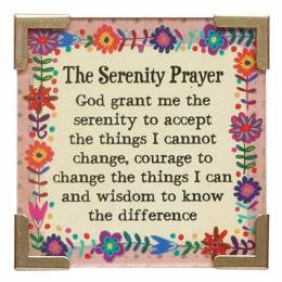 Natural Life The Serenity Prayer Corner Magnet