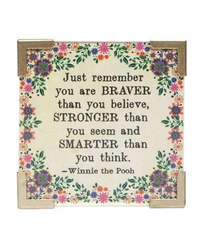 Braver, Stronger, Smarter Corner Magnet