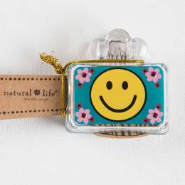 Natural Life Neon Smiley Face Toothbrush Cover