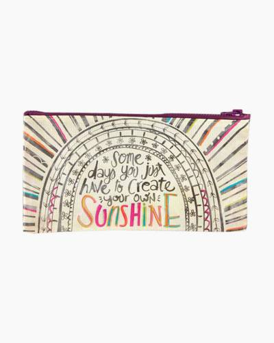 Create Your Own Sunshine Recycled Pencil Pouch