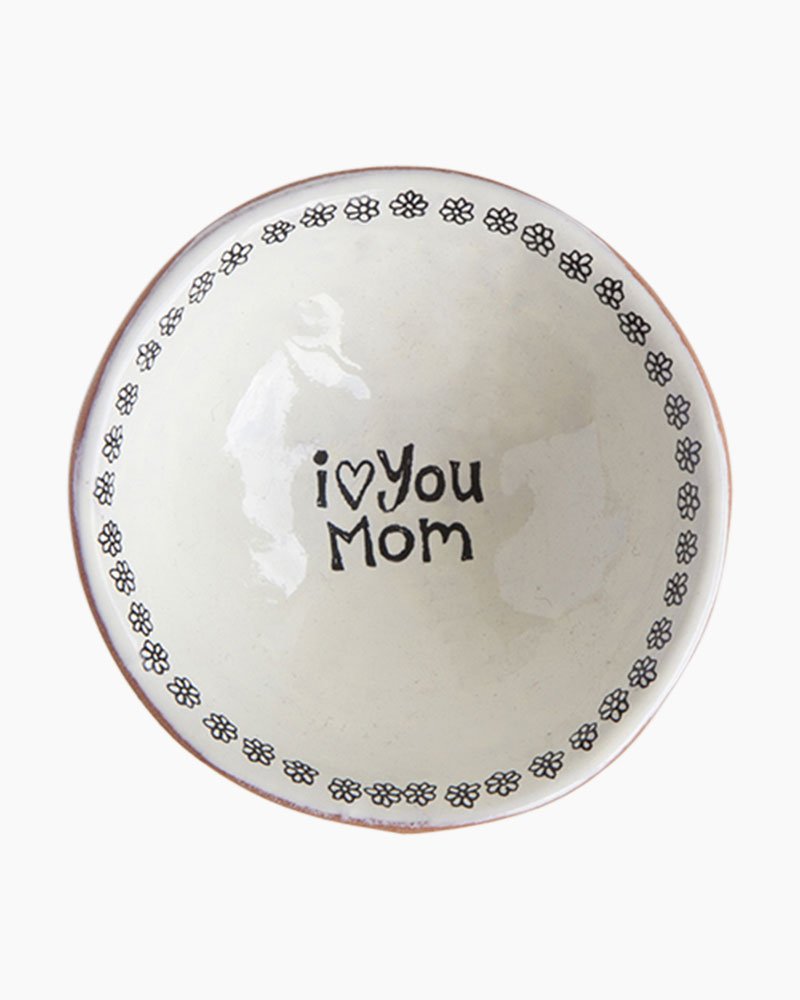 Natural Life I Love You Mom Tiny Trinket Dish