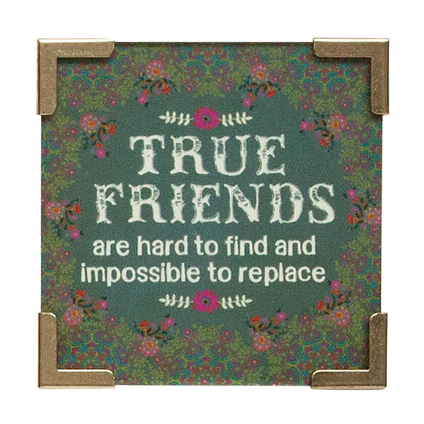 Natural Life True Friends Corner Magnet