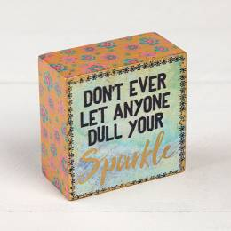 Natural Life Sparkle Tiny Keepsake Block