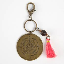 Natural Life Captain of Ship Marrakesh Keychain