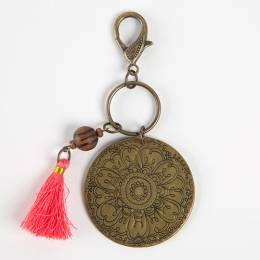 Natural Life Flower Marrakesh Keychain