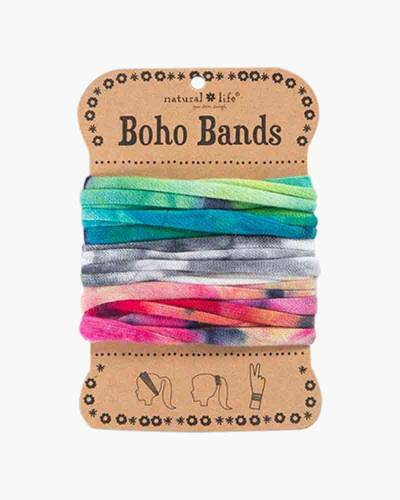 Neon Tie-Dye Boho Bands