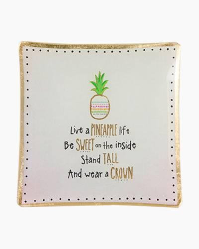 Pineapple Life Trinket Dish