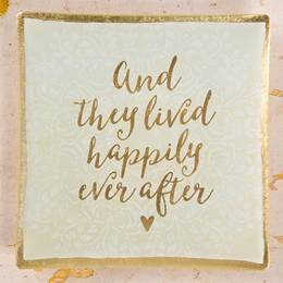 Natural Life Happily Ever After Trinket Dish