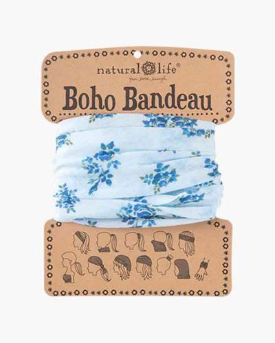 Sky Blue Rose Boho Bandeau