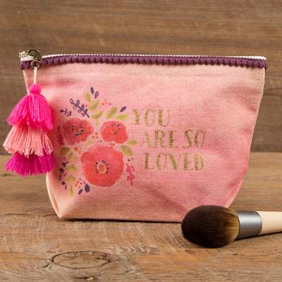 You Are So Loved Canvas Pouch