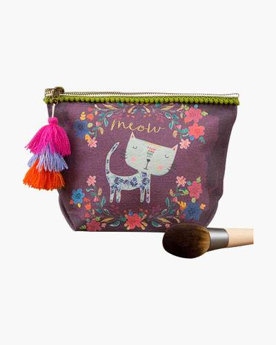 Meow Canvas Pouch