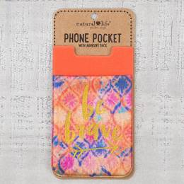 Natural Life Be Brave Phone Pocket