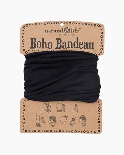 Boho Bandeau in Solid Black