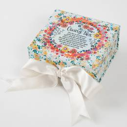 Natural Life The Giving Box in White Floral