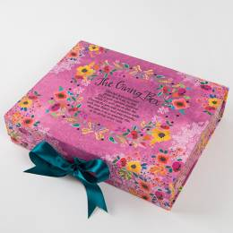 Natural Life The Giving Box in Pink Floral