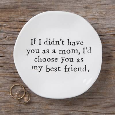 Mom Best Friend Trinket Dish