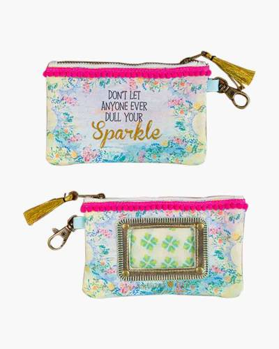 Don't Let Anyone Dull Your Sparkle ID Pouch