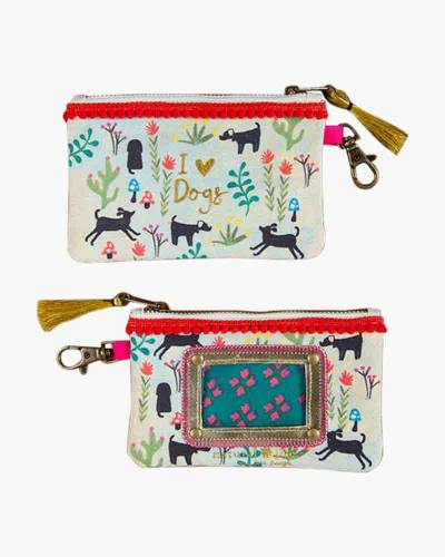 I Love Dogs ID Pouch