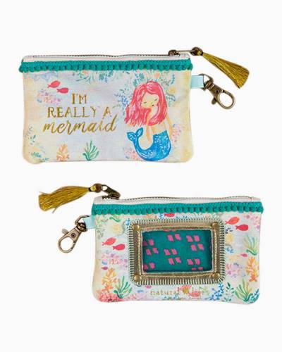Really a Mermaid ID Pouch