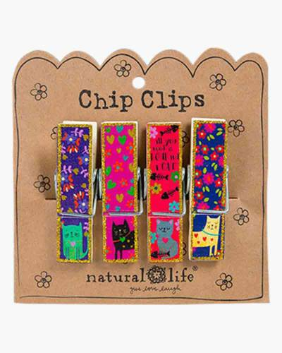 Love and a Cat Chip Clips
