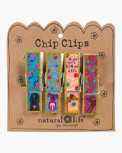 Love and a Dog Chip Clips