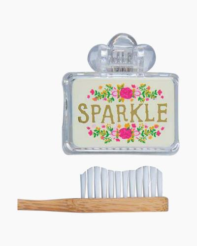 Sparkle Flower Toothbrush Cover