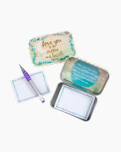 Love You to the Moon and Back Prayer Box