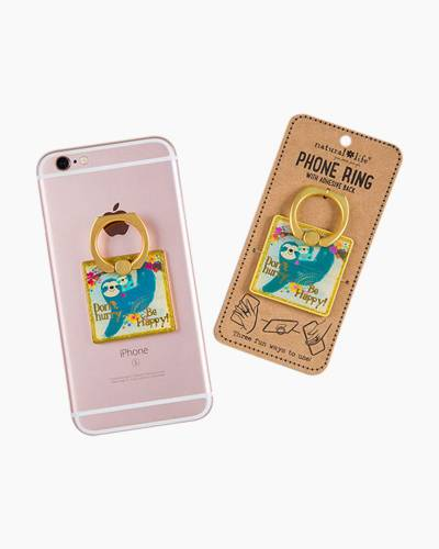 Don't Hurry Be Happy Sloth Phone Ring