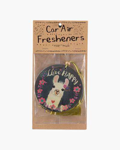 Llive Happy Llama Car Air Fresheners