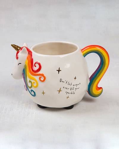 Rainbow Unicorn Sparkle Mug